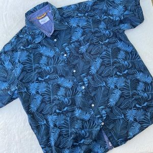 Paper Denim & Cloth Hawaiian Shirt 100% Cotton 2XL